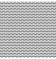seamless pattern with smooth wave lines vector image vector image