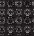seamless vintage decorative pattern with white vector image vector image