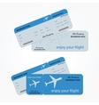 Variant of air ticket vector image