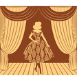 Vintage lady vector | Price: 1 Credit (USD $1)