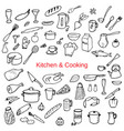 kitchen and cooking i vector image