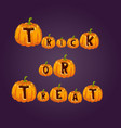 halloween party celebration invitation card vector image vector image