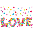 love written vector image vector image