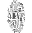 yoga for modern city life ancient practice fits vector image vector image
