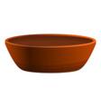ceramic historic bowl icon cartoon style vector image