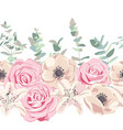 drawing flowers set vector image