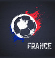 france football background vector image vector image