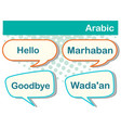 greeting words in arabic on poster