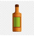 mexican tequila icon cartoon style vector image