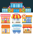 Shops and trade vector image vector image