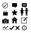 Web design icon set