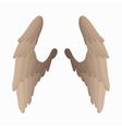 Pair of bird wings icon cartoon style vector image