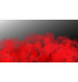 abstract realistic fog cloud design element vector image