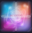 glowing neon banner for design background vector image