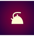 Kettle Flat design style vector image