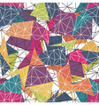 low-poly colorful seamless Converted vector image vector image