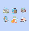 mobile payments business concept pictures online vector image vector image