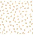 pumpkin seeds seamless pattern packaging vector image vector image