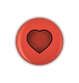 Chest badge button set vector image