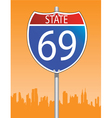 traffic sign vector image