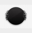 circle black explosion black banner vector image vector image