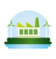 eco friendly environment design image vector image vector image