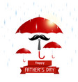 happy fathers day concept vector image vector image