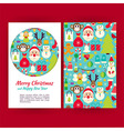 happy new year banners set template vector image