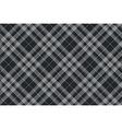 platinum kilt tartan diagonal seamless pattern vector image vector image