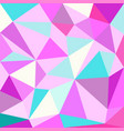 unicorn polygonal background low poly style vector image