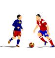 al 1041 soccer 03 vector image vector image