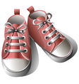 baby shoes vector image vector image