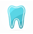 Dentist logo Tooth icon vector image vector image