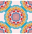 Endless Oriental Wallpaper Seamless Mandala Tile vector image vector image