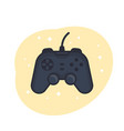 gamepad game controller vector image vector image