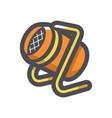 heat gun equipment icon cartoon vector image vector image