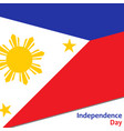 philippines independence day vector image