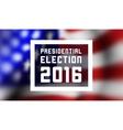 Presidentioal elecction in USA vector image vector image
