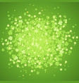 st patrick day green splash vector image vector image