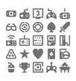 Video Game Icons 3 vector image vector image