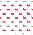 Amusement park bumper car pattern seamless vector image