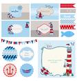 baby shower nautical set