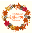 Beautiful Autumn Background vector image