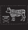butchers shop vector image vector image