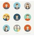 company avatars vector image vector image
