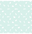 cute rabbit seamless pattern on blue vector image vector image