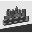 Emblem City vector image vector image