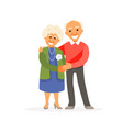 older couple vector image vector image