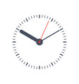 round clock face vector image