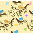 Seamless birds vector | Price: 1 Credit (USD $1)